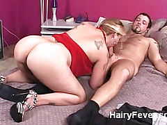 Hairy Pussy Rammed