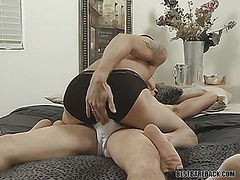 Billy Windsor & KC Williams - Double Penetration with a Cock and Dildo