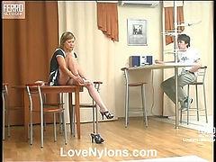 Mima&Ernest nylon fucking video