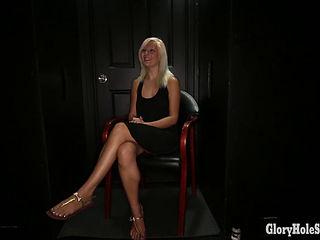 Gloryhole Secrets Sexy Blonde Loves Hot Cum Loads