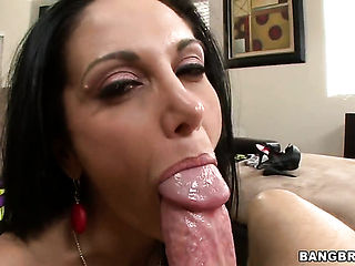 Brunette Ava Addams with massive hooters is in the mood for ass way fucking