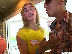 Phoenix Marie, Tanya Tate double date gangbang!