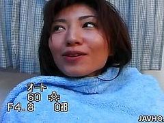 Sexy Hitomi Ikeno getting a nice hard fuck!