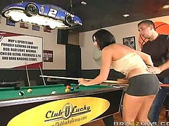 Fucked On The Pool Table