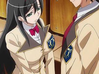 Young Anime School Student Anal Creampie Segment