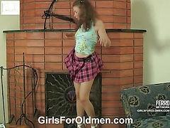 Alana&Karl girl and oldman video