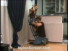 Nellie&Jerry naughty nylon action