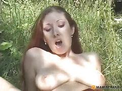 Fucks bitch in the green grass