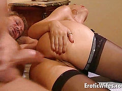 big meloned hot wife
