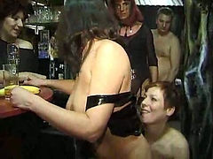 Swinger club video with great fucking