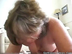 Wife Giving A Blowjob
