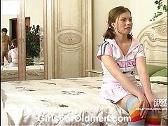 Alana&Sergio daddy sex video