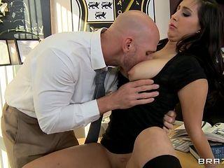 school girl seducing teacher