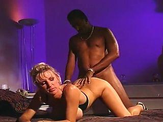Interracial Couple Doing Anal Bang
