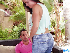 Pro beauty Rahyndee James outdoor bj