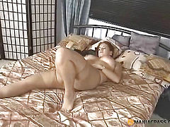 Touching her pussy under pantyhose