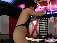 Stripper Getting Her Ass And Tits Rubbed Pussy Licked Nipples Sucked On The Stage In The Club