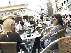 Cute European teen fucking in public place (Try something different  Free)