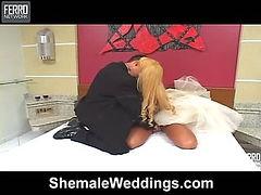 Ferrari sexy shemale bride