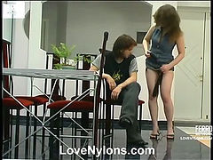 Nora&Danil passionate nylon action