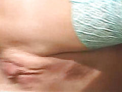 Chick in stockings fucked by a man