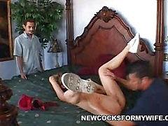 Slutty Wife Abby Blowjobs