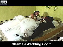 Marcela eager shemale bride