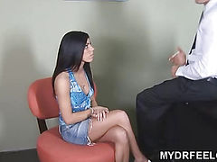 18yo Eva fucking doctor