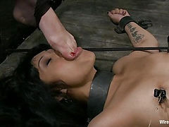 Bound, Shocked, and Made to Cum