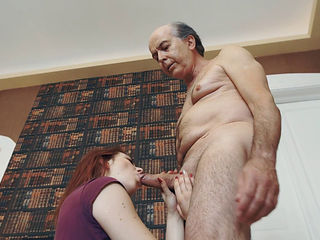 big cock Grandpa hairy