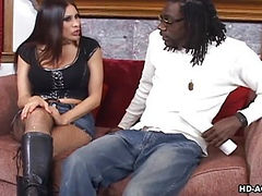 Huge black cock fucks Sheila Marie
