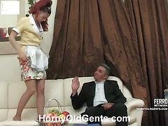 Afina&Frank girl and oldman video