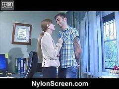 Rosa&Marcus screened while having nylonsex