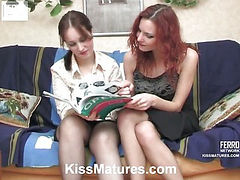 Judith&Marion lesbian mom on video