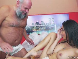 Fake tits Frida pounded hardcore before swallowing cum