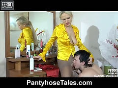 Dolly&Rolf pantyhose fuck video