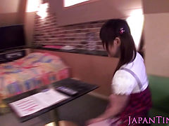 Tiny Japanese Miku Airi banged