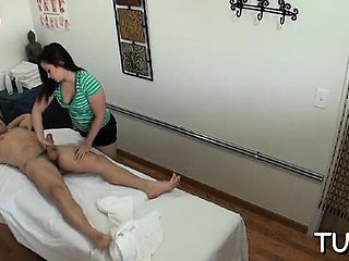 Chap acquires double enjoyment from massage and sex