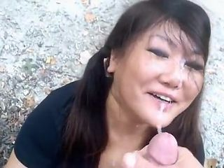 Exotic Amateur video with Facial, Blowjob scenes