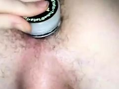 Sexy daughter crying anal