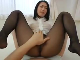 Sexy bitch in pantyhose
