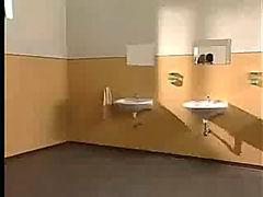 Horny Teacher Fucked In School Bathroom