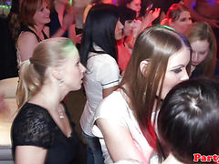 Amateur euroteen partybabes fucking in a club