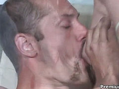 Foursome couples oral sex action