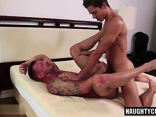 Latin son flip flop with cumshot