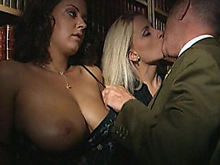 Two mature italian gangbang