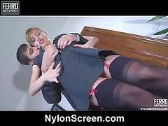 Rosa&Marcus nylon fucking video