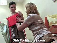 Emilia&Marion lesbian mature action