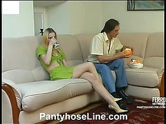 Viola&Marcus great pantyhose video
