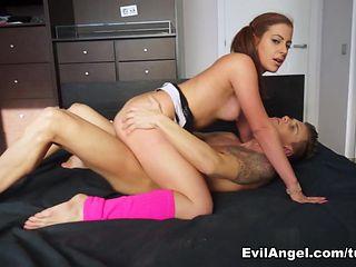 Hottest pornstars Chris Diamond, Nacho Vidal in Fabulous Latina, Redhead adult scene